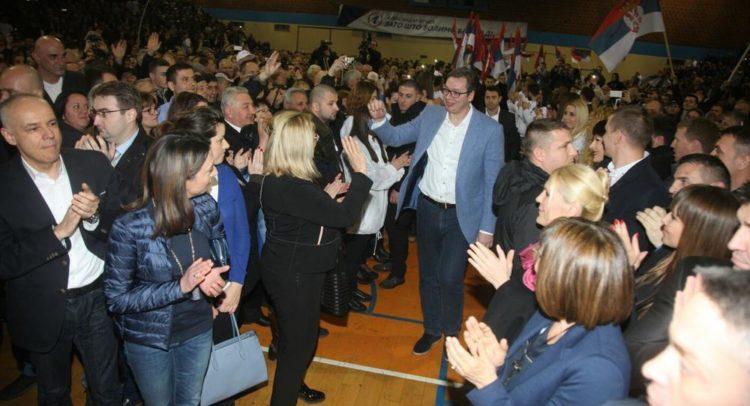 Miting SNS Vozdovac