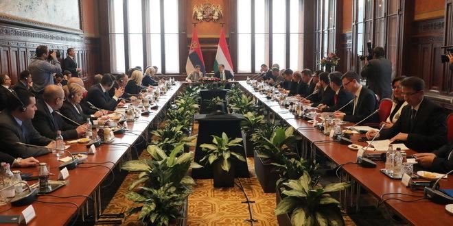 zajednicka sednica vlada srbije i madjarske