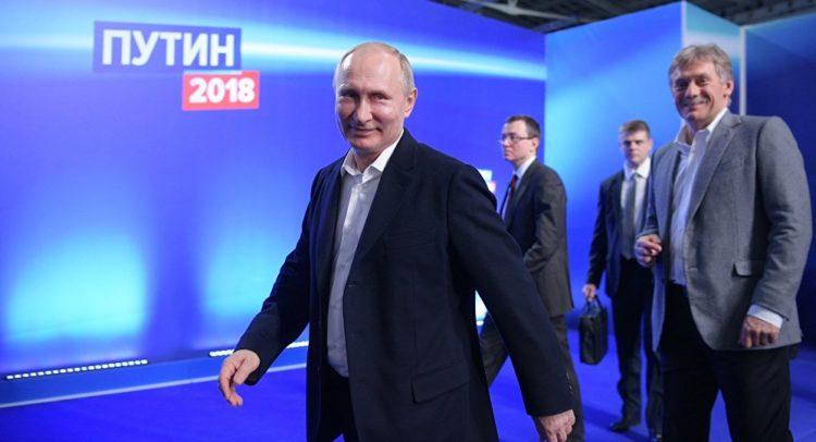 vladimir putin izbori rusija