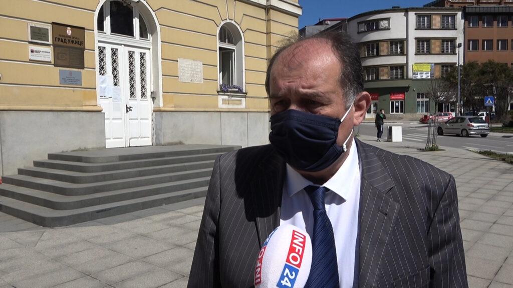Tihomir Petković, gradonačelnik Užica