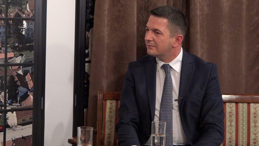 Dejan Kovačević, predsednik opštine Gornji Milanovac i predsednik OO SNS 1