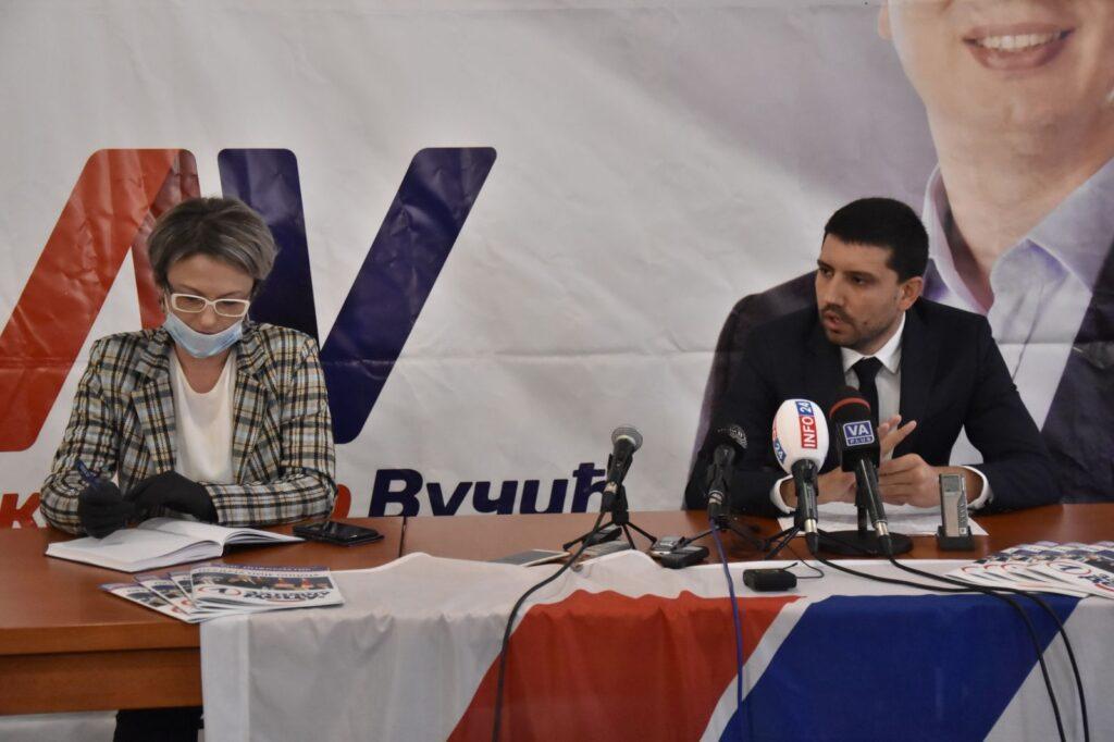 Konferencija za medije, Foto: Željko Bošković