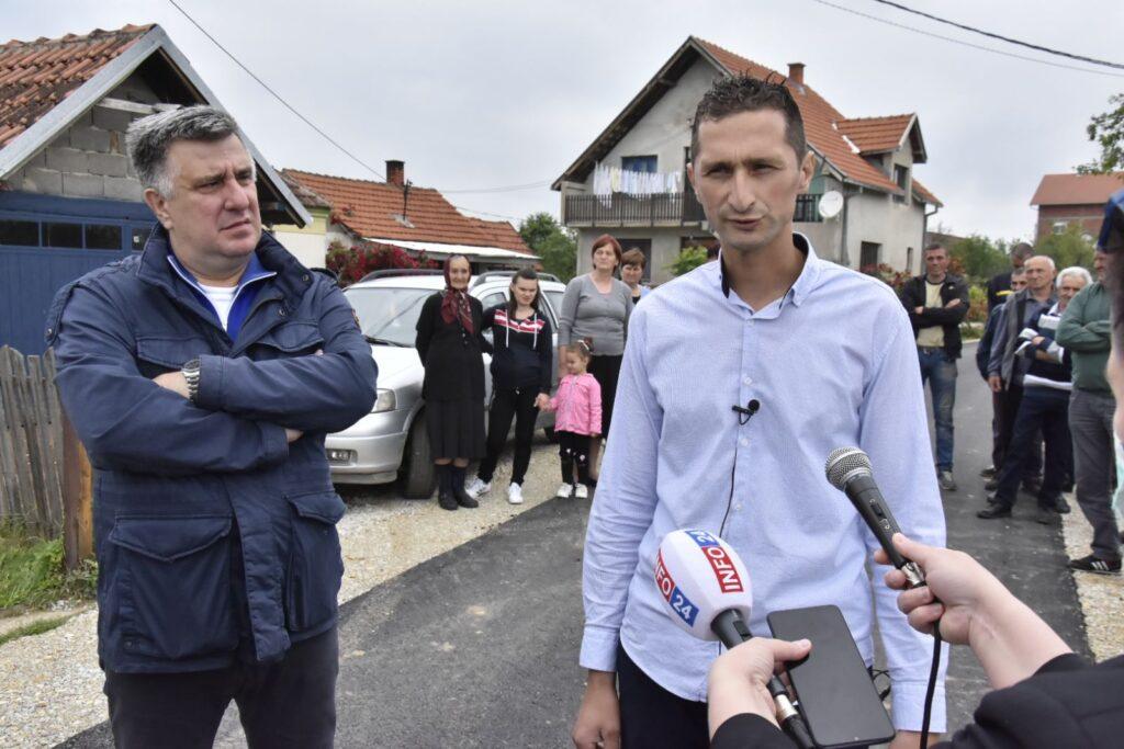 Vlada Senić, predsednik MZ Kotešica