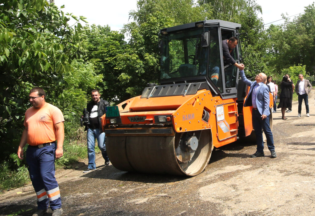 Radovi na obnovi infrastrukture u Bukovcu